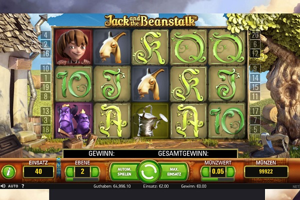 Jack and the Beanstalk Slot Gameplay