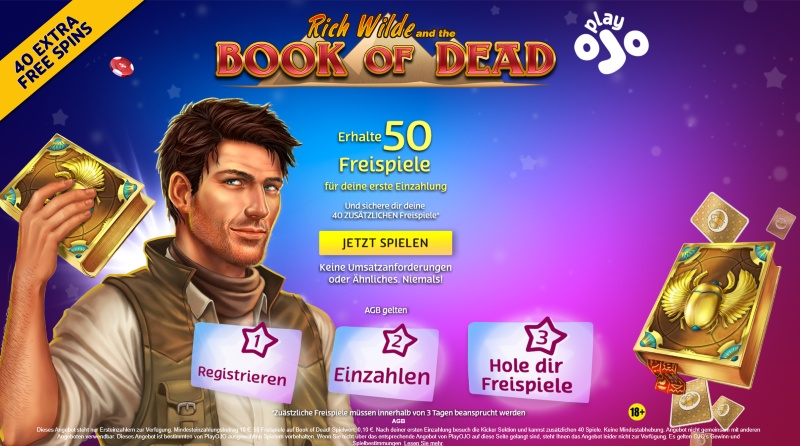 Book of Dead offer